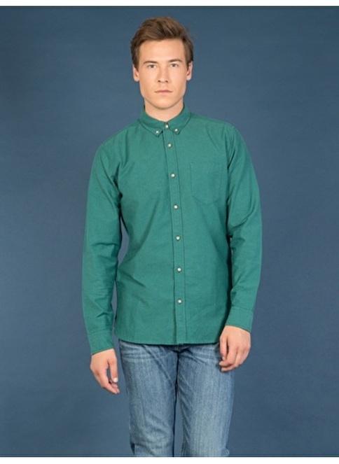 Colin's Uzun Kollu Gömlek Yeşil